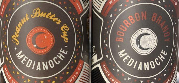 Peanut Butter Medianoche Bourbon Brandy Medianoche WeldWerks