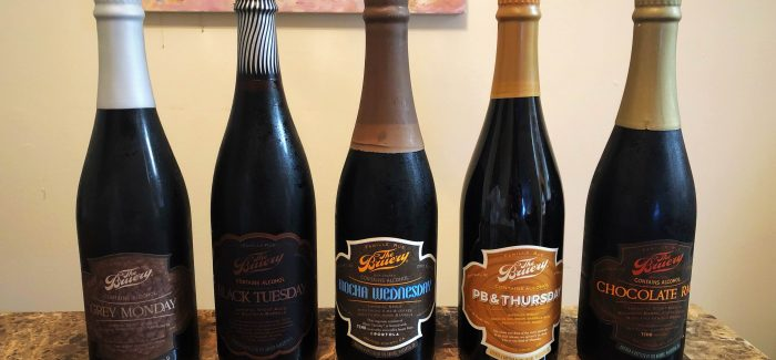 The Bruery | Weekday Stout Lineup