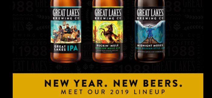 Great Lakes Brewing Company Releases 2019 Beer Lineup