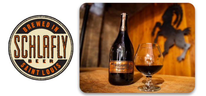 Schlafly Beer | The Variant II Brandy Barrel & Sour Cherry Aged Stout