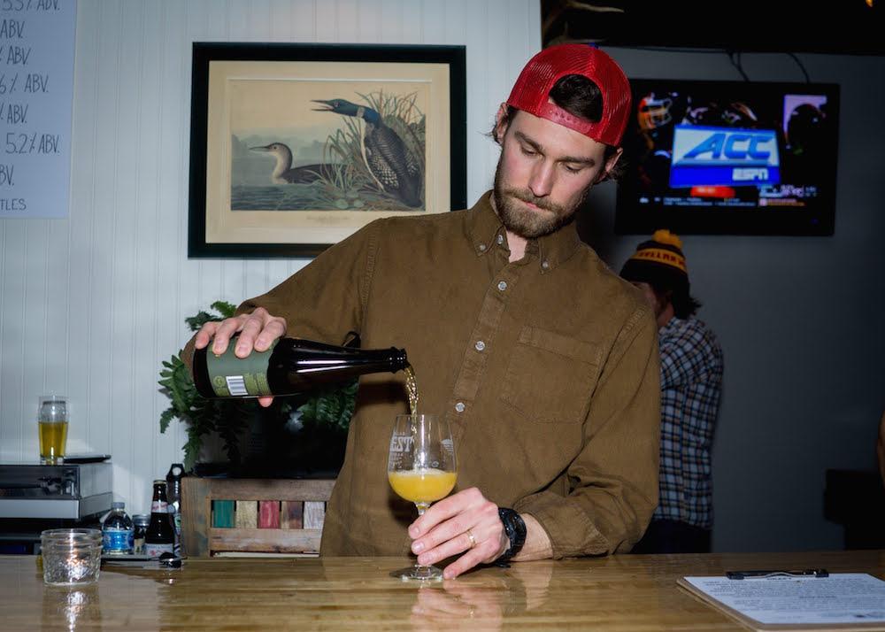 Zach Nichols Cellar West Artisan Ales