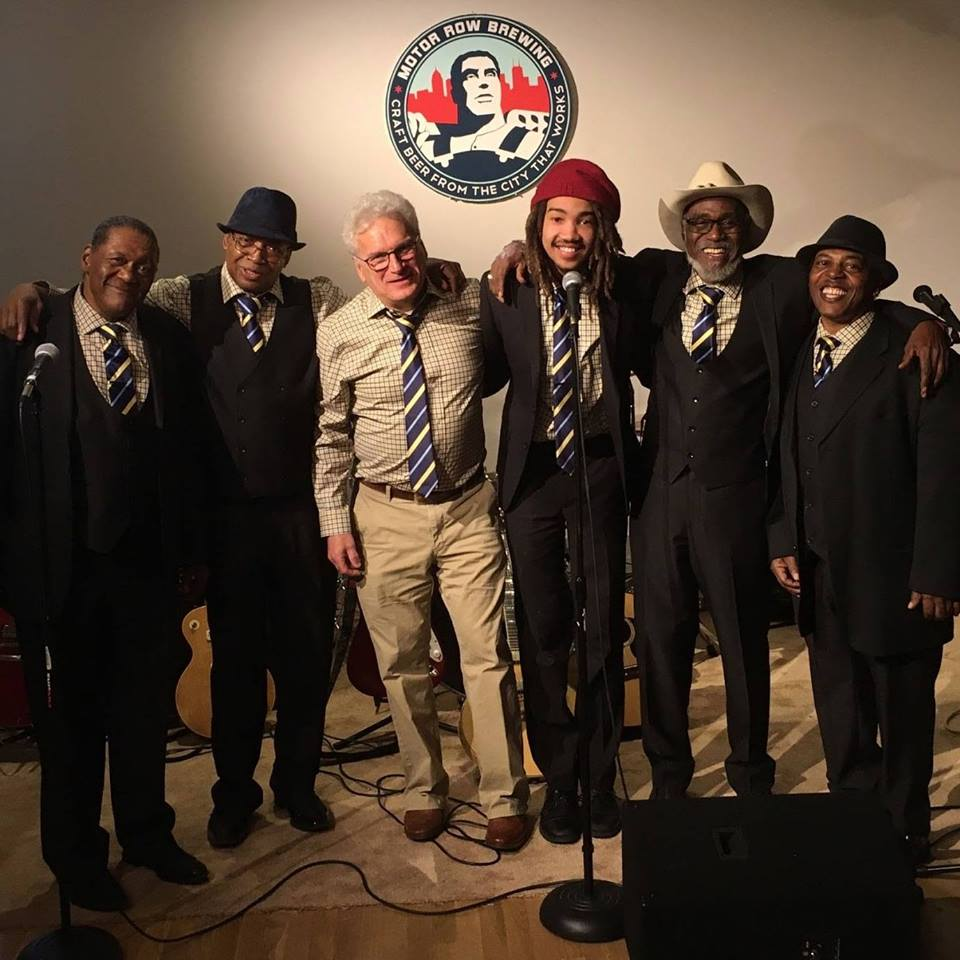 Original Chicago Blues All Stars at Motor Row, who will play at the Groundhog Day Brewers Rock Festival