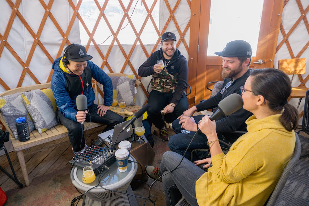Outer Range Brewing Lee and Emily Cleghorn PorchCast