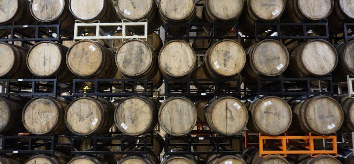 founders brewing barrel facility