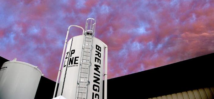 Zipline Brewing | Bourbon Barrel-Aged The Stout