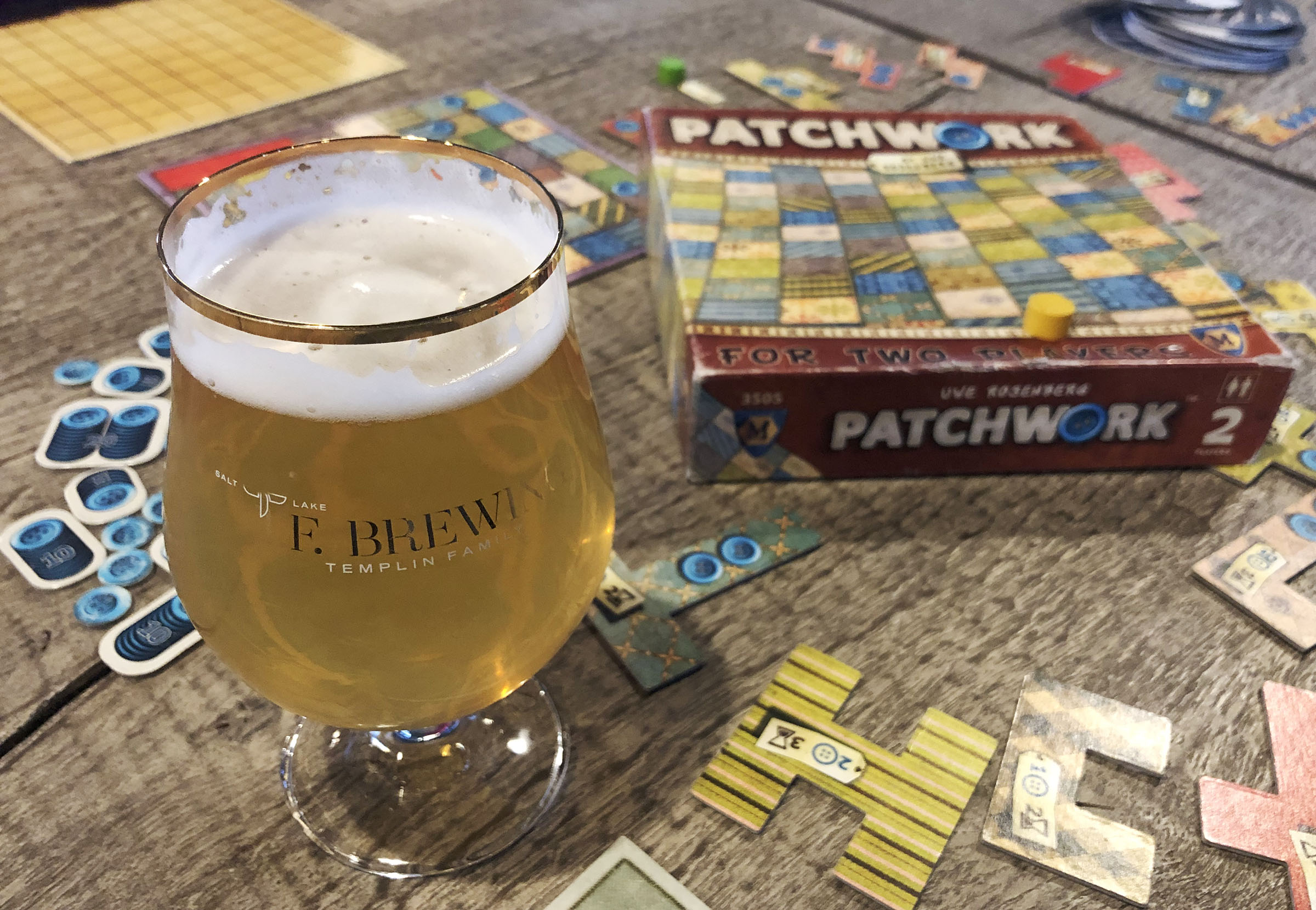 Board games and beer are on tap each Wednesday at Salt Lake's TF Brewing.