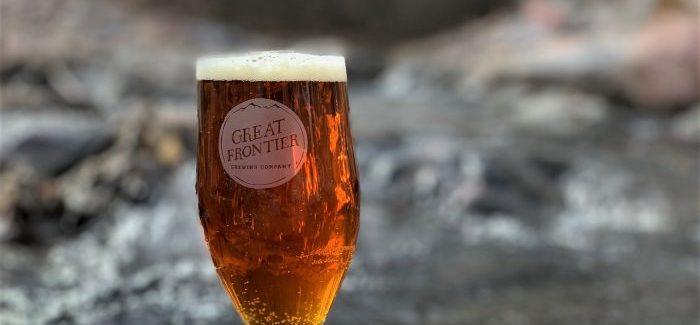 Great Frontier Brewing Oak St IPA