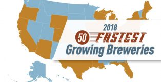 50 fastest growing breweries