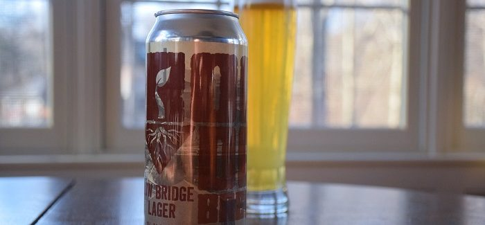 Root Down Brewing Co. | Low Bridge Lager