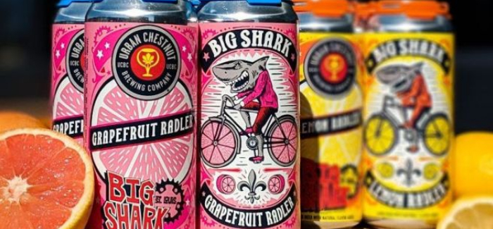 Urban Chestnut Brewing Co. | Big Shark Grapefruit Radler