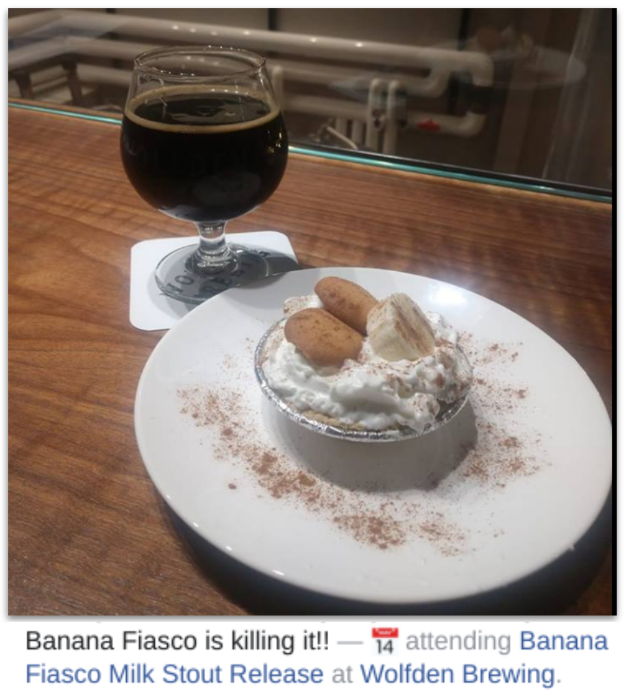 Bananas Fiasco Wolfden Brewing by John Bittermann
