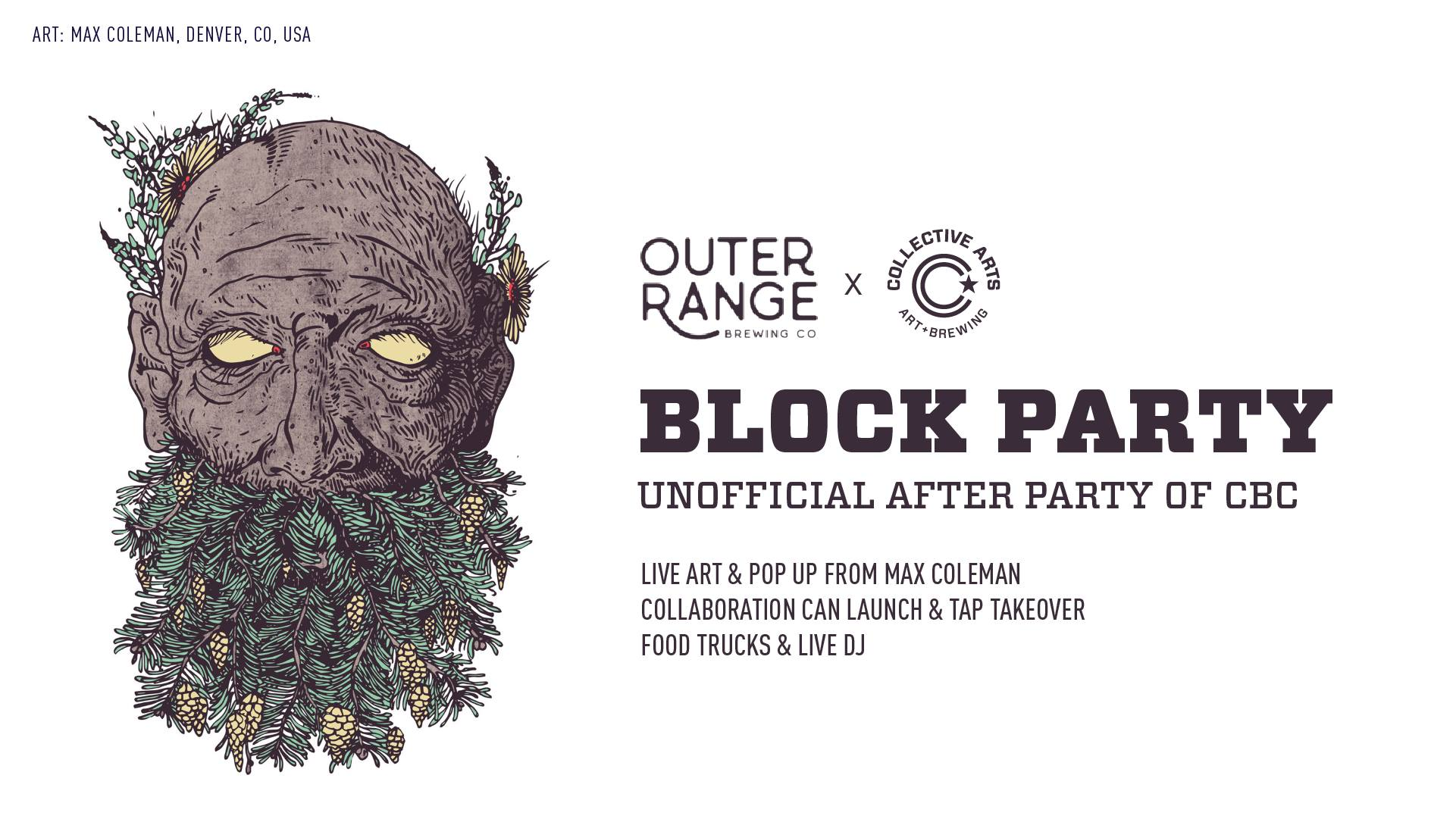 CBC After Party 2019 - Collective Arts with Outer Range