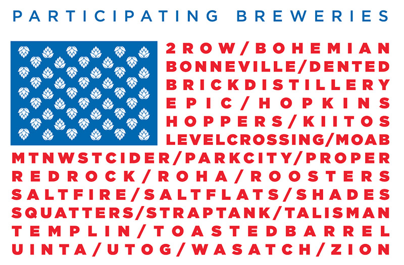 Breweries (and a cidery and a distillery) scheduled to participate in the 10th Annual Tour de Brewtah on May 4.