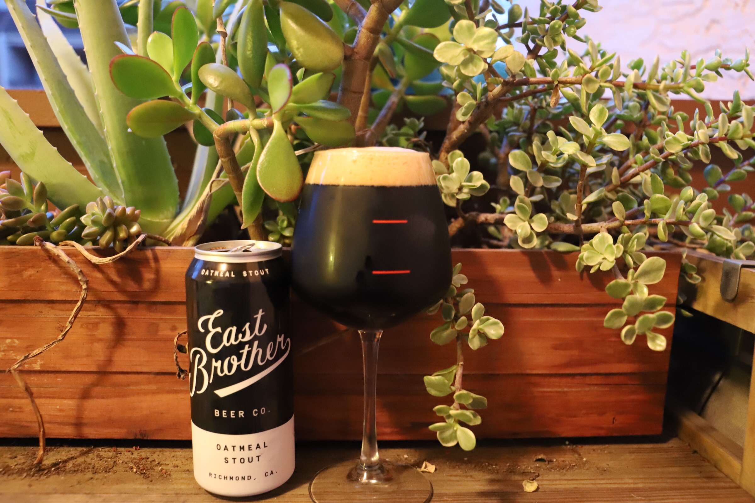 East Brothers Beer Co. Oatmeal Stout
