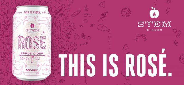Stem Ciders | Rosé Cider Release