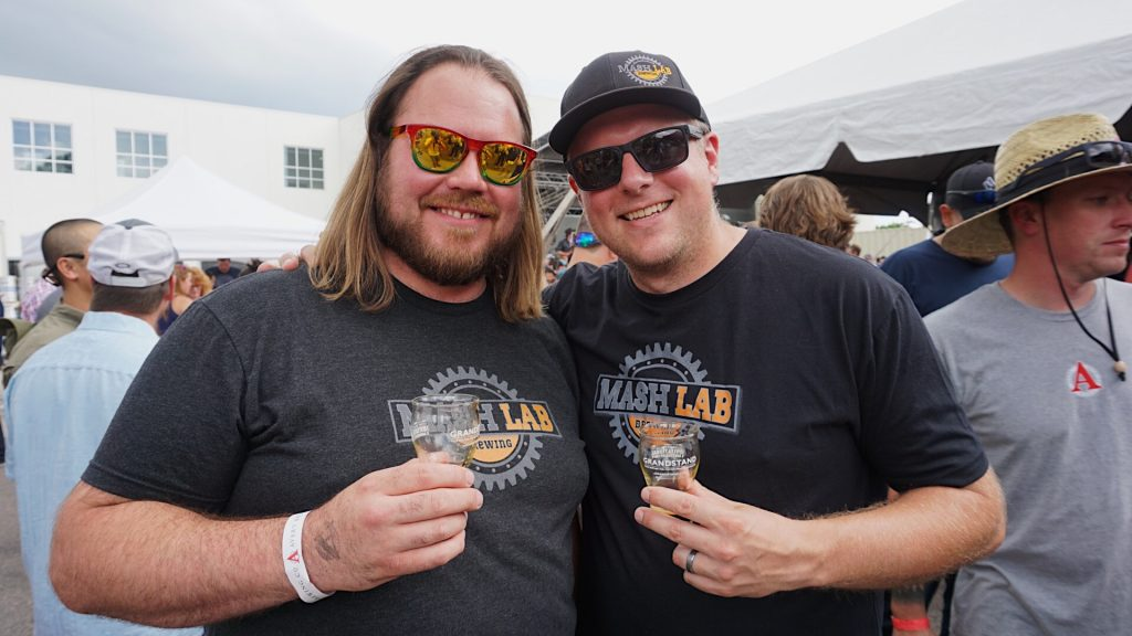 Kurt Kandler and Ryan Joy of Mash Lab Brewery