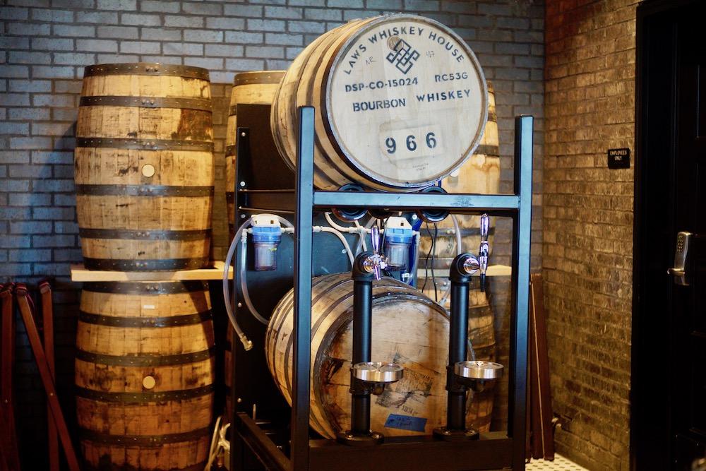 Alamo Drafthouse Westminster Pandora's Box Laws Whiskey Tap
