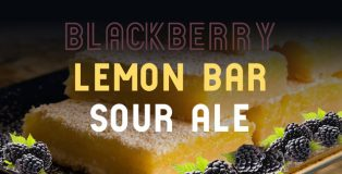 Blackberry Lemon Bar Sour Ale by Loveland Aleworks