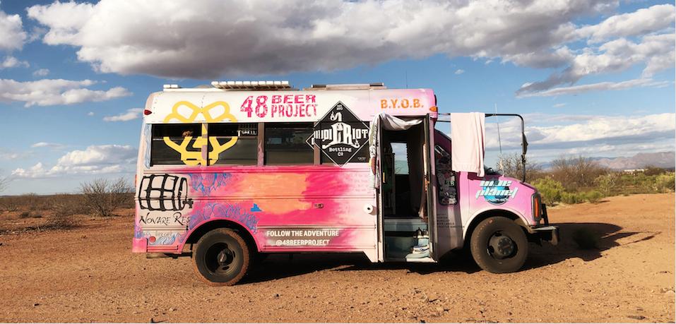 Label Artist Heidi Geist's Bus Fearless