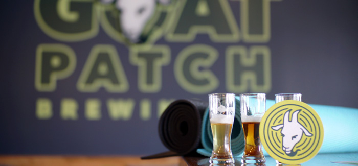 Baby Goats & Brews | Goat Yoga at Goat Patch Brewing Co.
