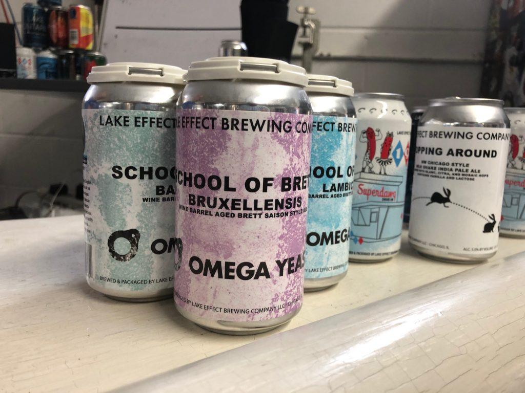 Lake Effect Brewing Beers