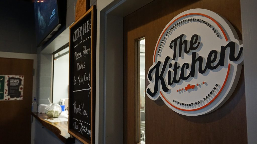 Country Boy Brewing Georgetown's The Kitchen