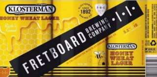 Fretboard Klosterman Honey Wheat Lager