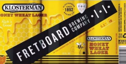 Fretboard Klosterman Honey Wheat Lager