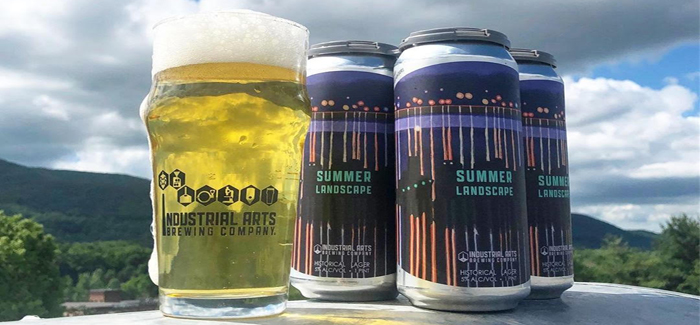 Industrial Arts Brewing Company | 2019 Summer Landscape