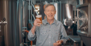 John Hickenlooper Presidential Beer Ad