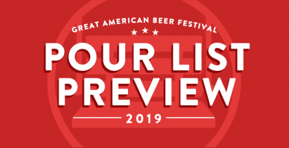 GABF 2019 Pour List Preview