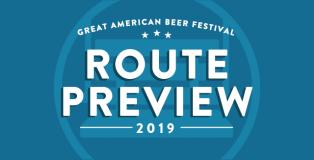 GABF 2019 Route Preview