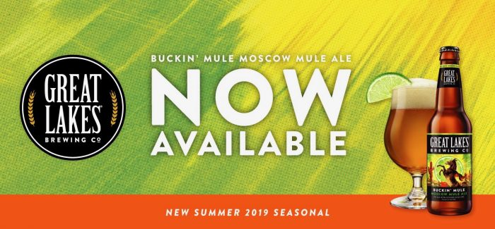 Great Lakes Brewing Company | Buckin' Mule Moscow Mule Ale