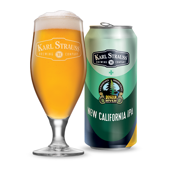 New California IPA - Karl Strauss Brewing Company and Russian River