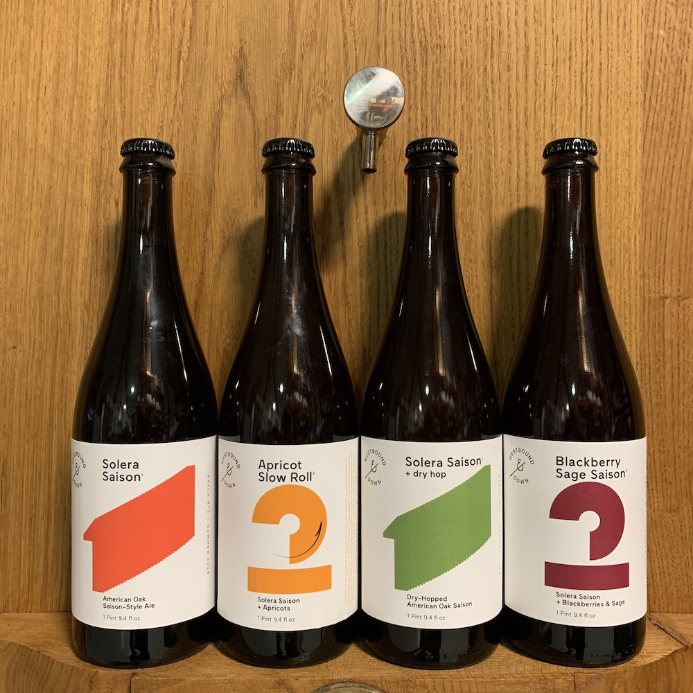 Westbound and Down Solera Saison Variants