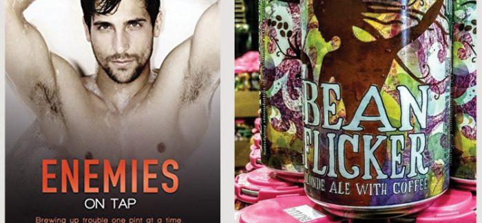 Beer & Book Club | Enemies on Tap by Avery Flynn & Odd Side Ale's Bean Flicker