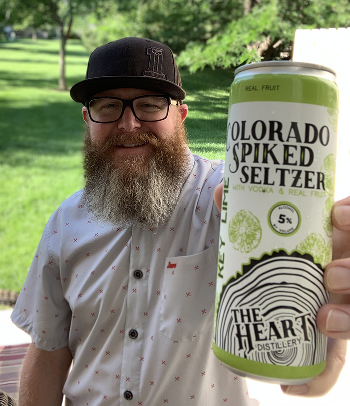 Colorado Spiked Seltzer from The Heart Distillery