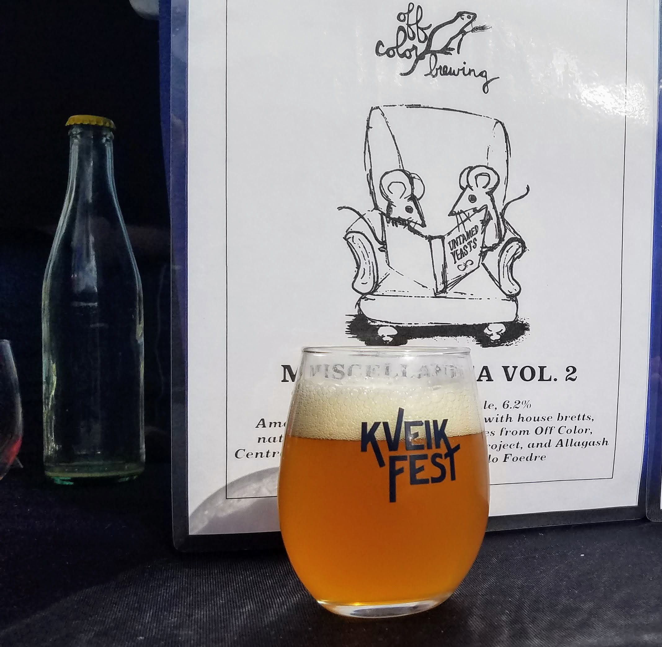 Off Color Miscellanea Vol. 2 at Kveik Fest District Brew Yards