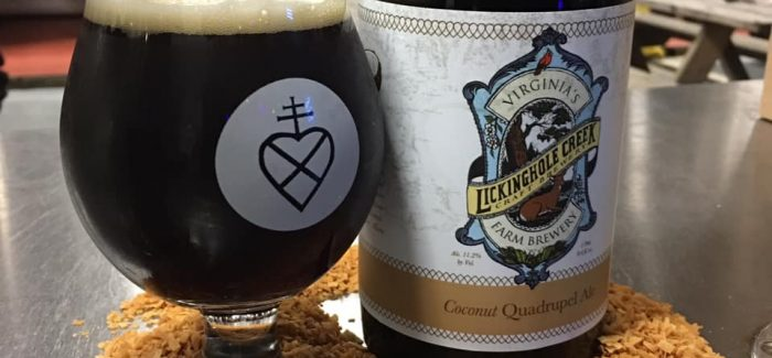 Lickinghole Creek Craft Brewery | Coconut Quad