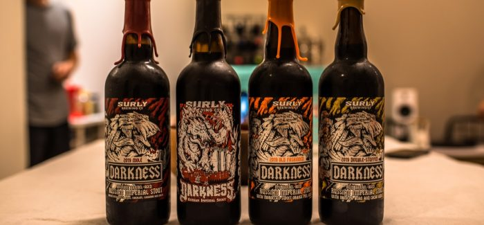 Drinking Through the 2019 Surly Darkness Barrel-Aged Variants