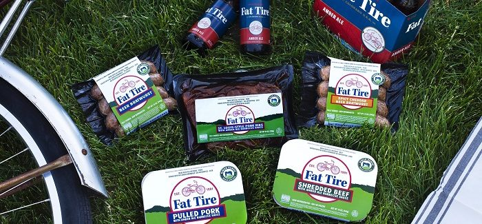 New Belgium Expands Fat Tire Brand with New Niman Ranch BBQ Collection