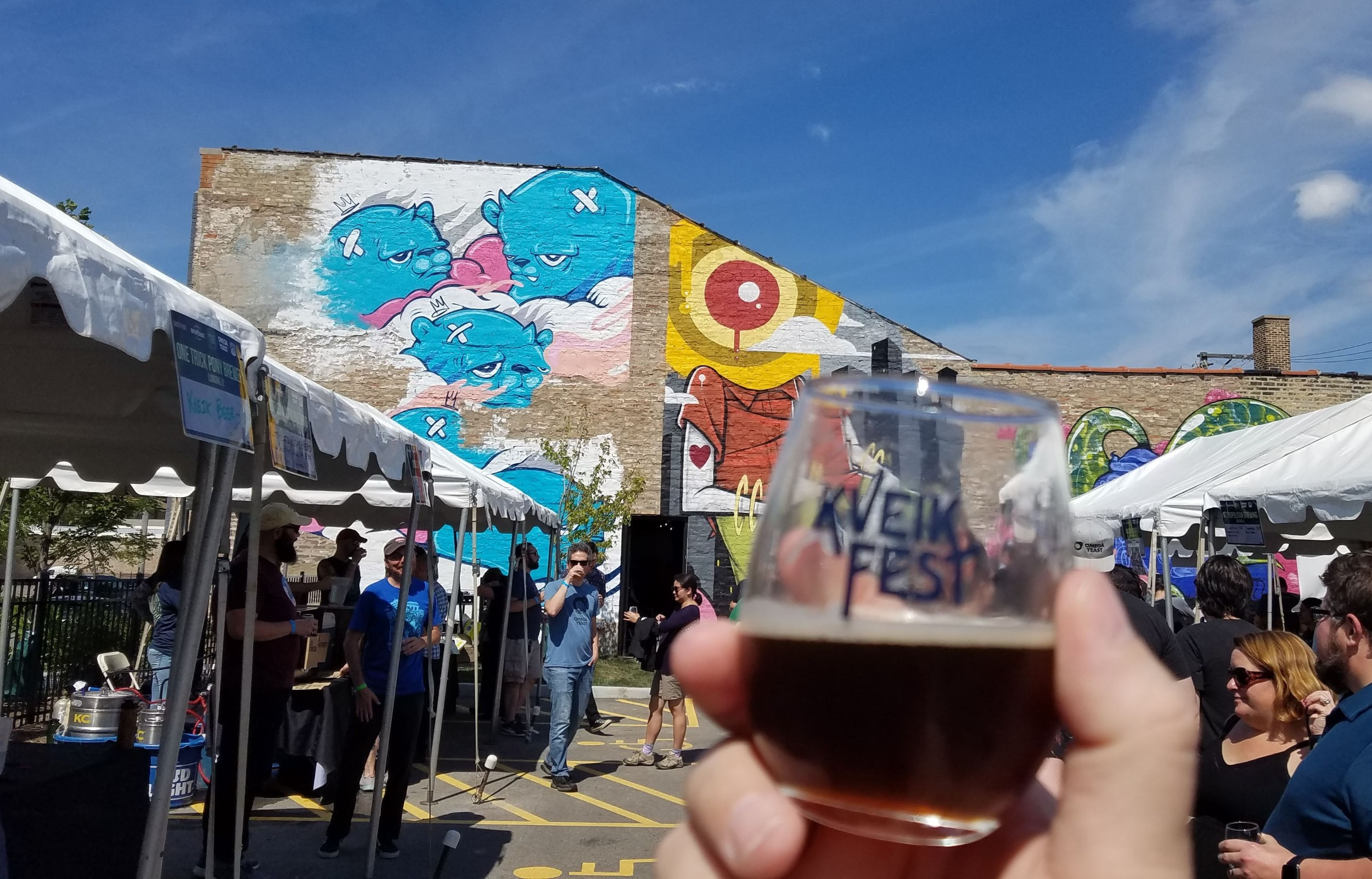 Metropolitan Brewing Roggenbier at Kveik Fest District Brew Yards