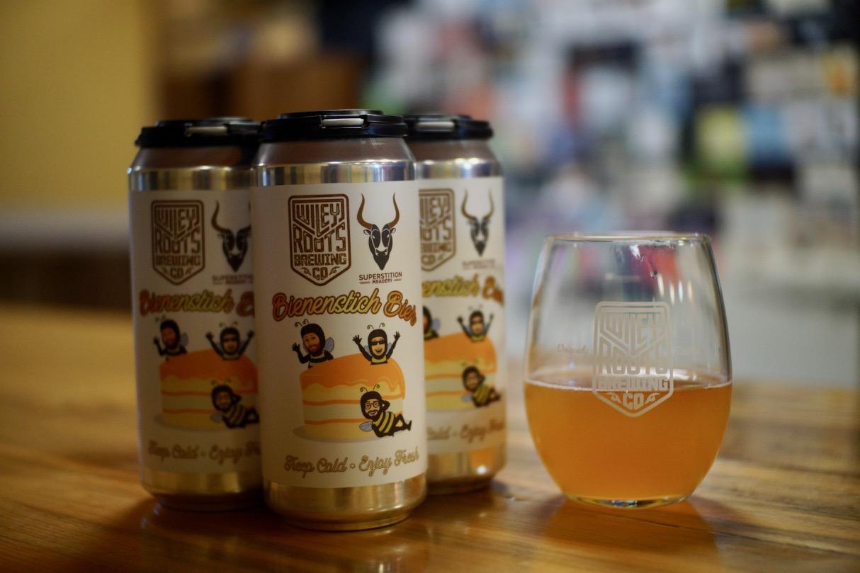 Wiley Roots Bienenstich Bier