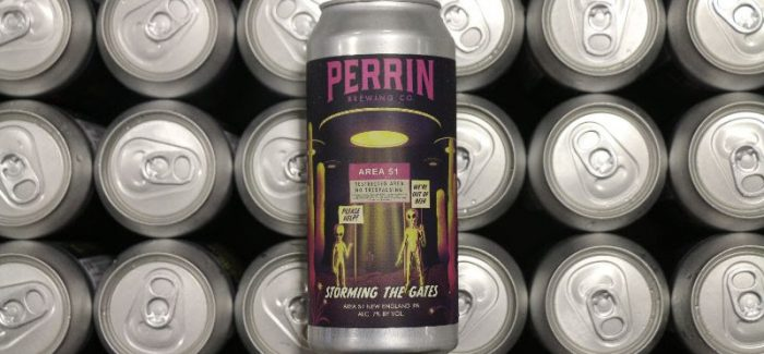 "Perrin Brewing Co. Releases New IPA Inspired by Now-Canceled ""Storm Area 51"""