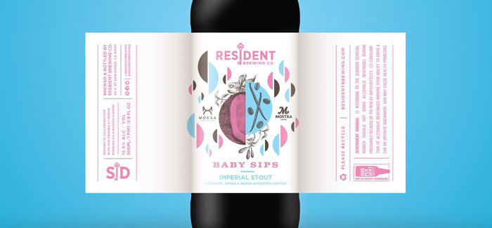 Resident & Moksa Brewing | Baby Sips Pastry Stout