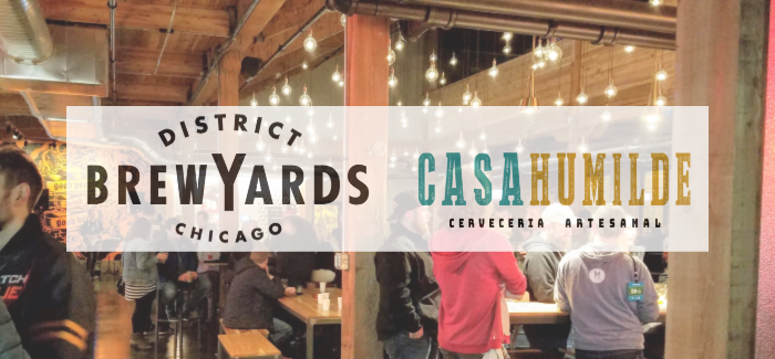 Latin-Inspired Casa Humilde Cervecería joins Chicago's District Brew Yards