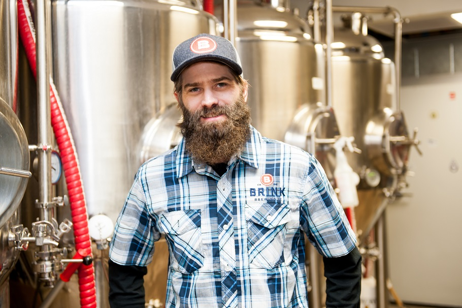 Five Questions With Kelly Montgomery, Brink Brewing