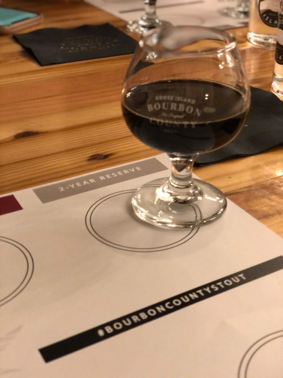 2019 Bourbon County Stout 2 Year Reserve