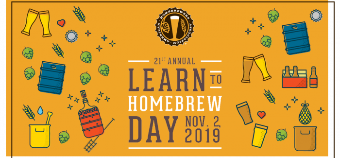 Learn to Homebrew Day is November 2