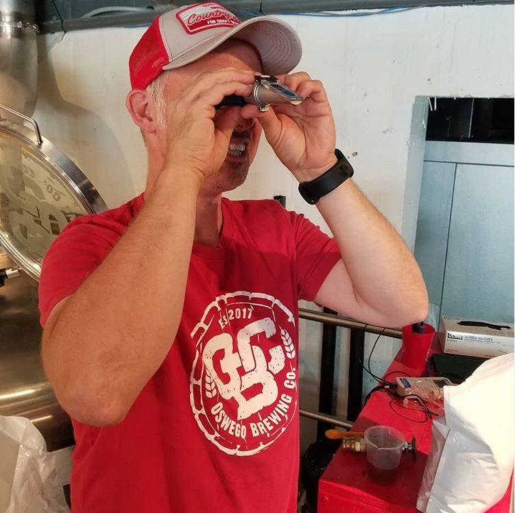 Marc Wilson Oswego Brewing